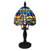 "Fine Art Lighting Tiffany 12.5"" H Table lamp with Novelty Shade"