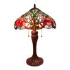 """Fine Art Lighting Tiffany 23"""" H Table Lamp with Bowl Shade"""