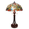 "Fine Art Lighting Tiffany 26"" H Table Lamp with Bowl Shade"