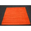 Persian-rugs Modern Shag Orange Area Rug
