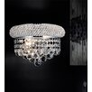 Crystal World 2 Light Wall Sconce