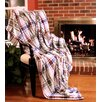Tache Home Fashion Bedside Comfort Flannel Throw Blanket
