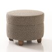 Studio Q Furniture Crosby Round Ottoman in Grade 3 Vinyl