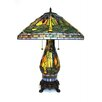 """Dynamic Way Serena d'italia 25"""" H Table Lamp with Cone Shade"""