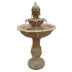 Beckett Polyresin Verona 3 Tiered Brownstone Fountain