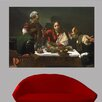 Wallhogs Caravaggio The Supper at Emmaus (1601) Poster Wall Mural