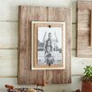 Mud Pie™ Pine Layered Burlap Picture Frame