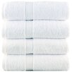 Lunasidus Bergamo Luxury Hotel / Spa Bath Turkish Cotton Bath Towel (Set of 4)