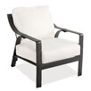 Castellano by Ancient Mosaic Studios Catalina Cast Aluminum Club Chair with Cushion