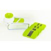 Imperial Home 7 Piece Multi-Purpose Slicing and Grating Station Set