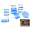 Imperial Home 30 Piece Plastic Food Storage Container Set