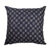 Meridian Furniture USA Delano Décor HashTag Cotton Throw Pillow