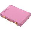 Premium Briefcase Business Card Holder Pink