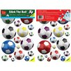Fun To See Soccer Balls Nursery and Bedroom Wall Decal