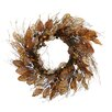 Shea's Wildflowers Twig and Beach Leaf Wreath