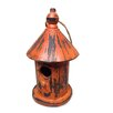 Shea's Wildflowers Autumn Leaves Vintage Birdhouse Decorative Bird Cage