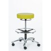 Brandt Industries Height Adjustable Pneumatic Stool with Ring Release