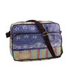 Northlight Seasonal Stripes and Jean Crossbody Bag with Strap