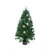 Northlight Seasonal 3' Color Changing Fiber Optic Christmas Tree