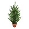 Northlight Seasonal Two-Tone Artificial Cypress Tree in Pot