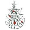 Northlight Seasonal 1.59' Lighted Christmas Tree with 35 Green Light