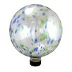Northlight Seasonal Transparent Glass Outdoor Patio Garden Gazing Ball
