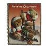 Northlight Seasonal Club Christmas Teddy Bear Receipt Organizer