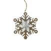 Northlight Seasonal Country Rustic Snowflake Christmas Ornament