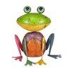 Northlight Seasonal Speckled Metal Frog Figure