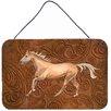Caroline's Treasures Horse Aluminum Hanging Painting Print Plaque