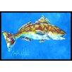 Caroline's Treasures Fish - Fish Seafood Two Doormat