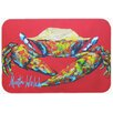 Caroline's Treasures Crab Seafood One Kitchen/Bath Mat