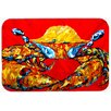Caroline's Treasures Crab Fat and Sassy Kitchen/Bath Mat