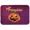 Caroline's Treasures Hello Pumpkin Halloween Kitchen/Bath Mat