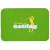 Caroline's Treasures I'd Rather Be Golfing Man Kitchen/Bath Mat