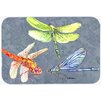 Caroline's Treasures Dragonfly Times Three Kitchen/Bath Mat