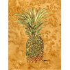 Caroline's Treasures Pineapple House Vertical Flag