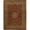 Rugnur Pasha Maxy Home Medallion Traditional Red/Ivory Area Rug