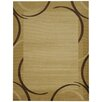 Rugnur Pasha Maxy Home Contemporary Arches French Border Ivory/Beige Area Rug