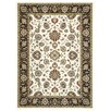 Rugnur Lush Maxy Home 1-Million-Point Persian Mahal Border Traditional Ivory/Black Area Rug