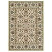 Rugnur Lush Maxy Home 1-Million-Point Persian Tabriz Border Traditional Ivory/Beige Area Rug