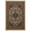 Rugnur Hammam Maxy Home Traditional Floral Ivory Area Rug