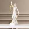 Darby Home Co Marcella Bonded Marble Themis Blind Justice Figurine