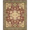 Darby Home Co Williamsburg Hand-Knotted Burgundy Area Rug