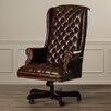 Darby Home Co Clark High-Back Leather Executive Chair
