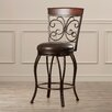 "Darby Home Co Mauntell 30"" Swivel Bar Stool with Cushion"