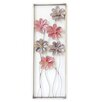Charlton Home 6 Flowers on Stem Wall Decor