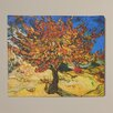 Charlton Home 'Mulberry Tree' by Vincent Van Gogh Painting Print on Canvas