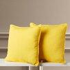 Charlton Home Hunden Indoor / Outdoor Throw Pillow (Set of 2)