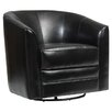 Brayden Studio Swivel Slipper Chair